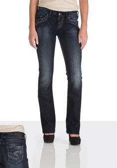 Silver Jeans Co. ® Suki with front embellishment