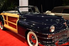 1946 Chrysler Town And Country Convertible . Front Angle by ...