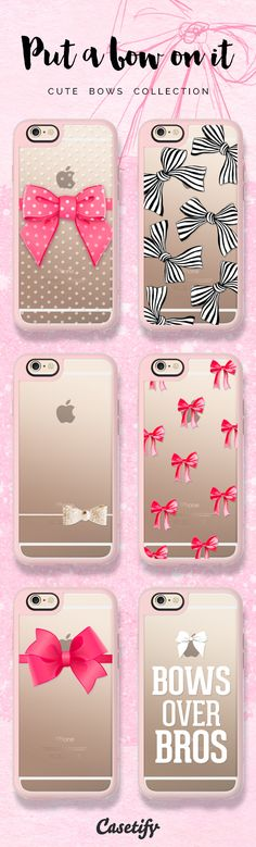 Bows over Bros. Click through to shop these bows iPhone 6 cases >>> https://www.casetify.com/artworks/iSBiKT3qJj #phonecase | @casetify