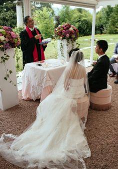 wedding in the garden...