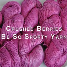 Be So Sporty Yarn by Kristin Omdahl Yarns is a beautiful, 100% bamboo, sport weight yarn. Spun, milled and hand dyed in the United States of