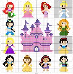Free Princess Perler Bead Patterns For Kids U