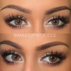 Soft with big lashes.
