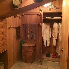 WRH cedar closet. Cedar Closet, San Simeon, Wardrobe Rack, Entryway, Wall, Ranch, Castle, Furniture, Home Decor