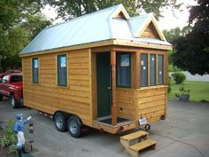 Home - My Tiny House on Wheels..... this would seriously be the best camper ever!!!! OH I wish I wish!!!