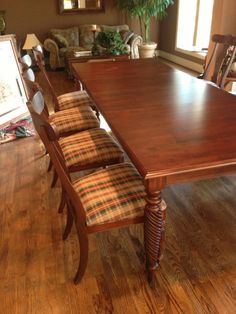 Ethan Allen Dining Table W/Chairs #EthanAllen