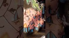 BRAZIL - STUNNING GRAFFITI WALL IN SAO PAULO