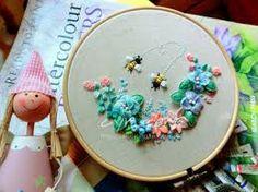 Resultado de imagem para stumpwork embroidery