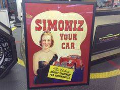 Simoniz Your Car Framed Cut Out