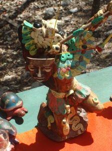 Artesanía que me gustó en Chichén Itzá, Yucatán