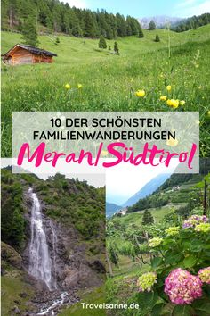 Familienurlaub Südtirol: Die 10 schönsten Wanderungen mit Kindern im Meraner Land The area around Merano is the perfect travel destination for a holiday in South Tyrol. We show you our ten favorite hi Holiday Destinations, Travel Destinations, Vacation Travel, Travel Europe, Photography Beach, Family Photography, Vacation Quotes, South Tyrol, Outdoor Adventures