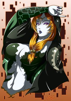 Midna, The Legend of Zelda: Twilight Princess artwork by Darkrinoa 88