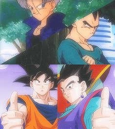 Dragon Ball Z -Sons and Fathers.