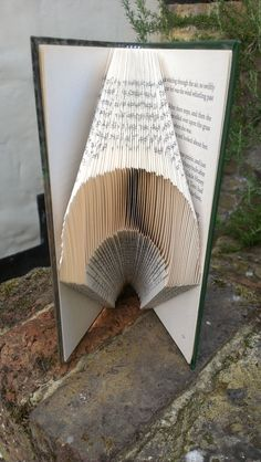 Folded Book Art  'Wizard of Oz' Book by TheFoldedBookCompany, £12.50