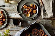 Roasted Squash with Maple-Ginger Glaze Recipe on Food52 recipe on Food52