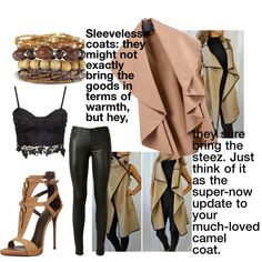 How To Wear Camel trend Outfit Idea 2017 - Fashion Trends Ready To Wear For Plus Size, Curvy Women Over 20, 30, 40, 50