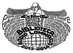 Poesia e musica, emozioni globali. Omaggio a Shakespeare - Xilografia su legno di testa (X2) - mm150x105 - anno di esecuzione 2012-2013