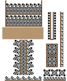 Folk Costume, Cross Stitch, Tapestry, Traditional, Sewing, Abs, Winter, Fashion, Necklaces