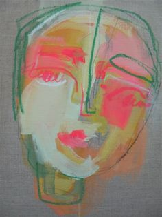 Green Brow by Sally King Benedict.  I've admired this piece for some time.