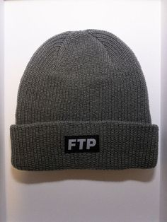 official photos d698e fe432 FTP Logo Beanie (Gray) - FUCKTHEPOPULATION  fashion  clothing  shoes   accessories  mensaccessories  hats (ebay link)