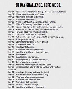 Word Lust: 30 Days of Blogging Challenge