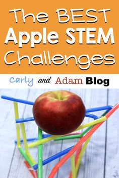 This fall don't just teach the standards. Engage students in hands-on STEM challenges and real-world science experiments with apples! Spice up your lesson plans with these top 4 apple science activities! Science Activities, Science Experiments, Matter Activities, Teaching Science, Stem Teacher, Elementary Teacher, Kindergarten Stem, Stem Learning, Coding For Kids