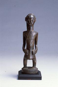 Mipasi (ancestor figure) - University of Iowa Museum of Art Online Collections Online Collections, Congo, African Art, Iowa, Online Art, Art History, Art Museum, Statue, Museum Of Art