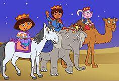 Dora the Explorer's Three Kings Day party ideas