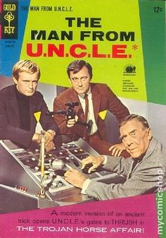 Items similar to The Man From Uncle 10 VG Photo Cover Gold Key Retro Spy TV Series Movie Tie In Comics Book Silver Age Christmas Gifts on Etsy Spy Shows, 60s Tv Shows, Tv Vintage, Vintage Comic Books, Vintage Comics, Vintage Stuff, Spy Tv Series, Series Movies, Movies