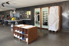WORLD BASICS Pop up Store at Merci Store in Paris by Schemata Architects