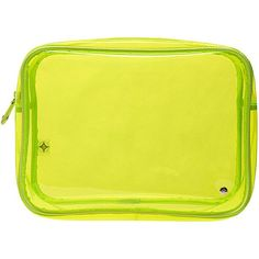 Stephanie Johnson Miami Jumbo Zip Cosmetic Case - Neon Yellow -... ($30) ❤ liked on Polyvore featuring beauty products, beauty accessories, bags & cases, yellow, toiletry bag, dop kit, travel kit, make up purse and make up bag #perfumery #perfumerywomen #perfumeryfemale #perfumerymen #perfumeryusa  #usa #cosmetics #cosmeticsusa