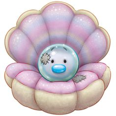 Blue Nose Friends- Pandora the Pearl Oyster Tatty Teddy, Cute Images, Cute Pictures, Baby Animals, Cute Animals, Blue Nose Friends, Cute Clipart, Cute Cartoon, Cute Art