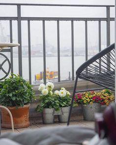 Hat ja auch irgendwie was - so eingekuschelt,mit Musik auf den Ohren und Kaffee in der Hand - Rainy Hamburg ️ Guten Morgen Wochenende,fein das du da bist  #acapulco #balcony #balconyview #balkon #bloom #blooms #chair #chillybilly #coffeetime #cozy #flower #flowers #flowerstagram #goodmorning #gutenmorgen #Hamburg #hh #home #instadaily #instahome #interieur #interior #mexico #myview #rain #rainy