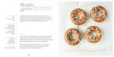 Maple donuts van amandelmeel, Kookboek Zoet, Blij Suikervrij