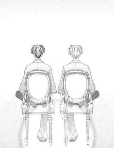 """"""" In their eyes, the world only consists of """"Us"""" and """"Apart from Us"""" """" School Clubs, High School Host Club, Hikaru Y Kaoru, Ouran Host Club, Ouran Highschool, Fandom, Manga, Phone, Anime Characters"""