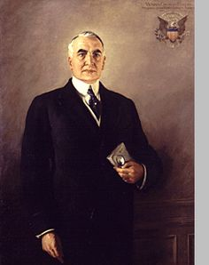 Warren G. Harding, 29th President and name of my high school.