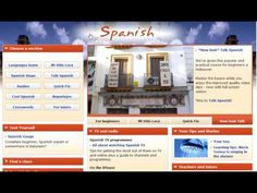 How to Learn Spanish Online for Free -- this is a very helpful video just showing you many sites that have free resources for learning Spanish. Learn Spanish Free, Learn To Speak Spanish, Learn Spanish Online, Learning Sites, Learning Resources, Spanish Lessons, Spanish Projects, Spanish Culture, Spanish Language Learning