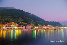Sami - Villages of Kefalonia Island, Greece I must go there!