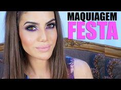▶ Maquiagem Festa (Madrinhas e Debutantes) - YouTube