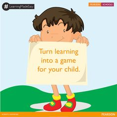 If your child finds school difficult give him a practical experience. Take him to a museum, gallery, even a playground to teach him. What do you do to help your child learn? Give us your tips in the comments.  #LearningMadeEasy  Give your child the best education. Enquire for admissions here: http://on.fb.me/1mF0moC  #PearsonSchools