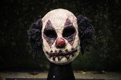 Stitches the Clown,Creepy Clown Mask,Clown Costume,Vintage Clown,Scary Mask,Creepy Mask,Halloween Costume,Halloween Mask,Mens Mask,Dark Mask