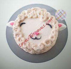Lamb Cake Decorating Tutorial