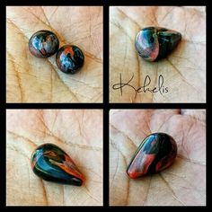 Time to start thinking about #fall #colors  #polymerclay #polyclay #arcillapolimerica