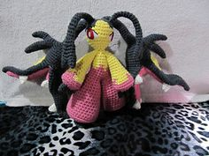 Mega-Mawile by The Nerdy Knitter #pokemon #crochet #pattern