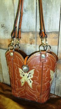 Cowboy Boot Purse- NEED!!! :)