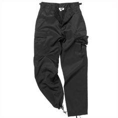19bfa497cea Mil-Tec BDU Ranger Combat Trousers Black  Amazon.co.uk  Clothing
