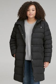 9177687e4ac Plus Size Puffer Jackets for Women