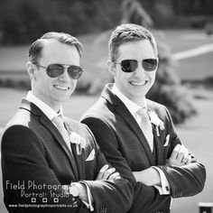 Two charming chaps a quick snap of brothers just before the ceremony. #fieldphotographicportraits #merv_spencer #wedding #groom #bestman   From Field Photographic Portrait Studio   http://ift.tt/20TBije