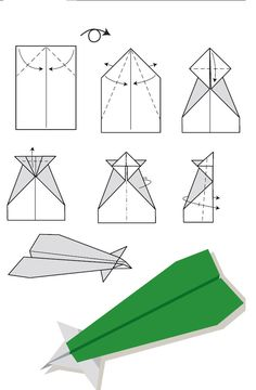 Paper airplane ideas | Paper Airplanes | Pinterest | Make paper ...