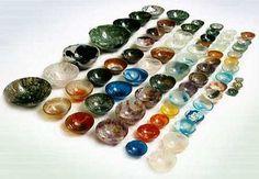 Beautiful gemstone bowls